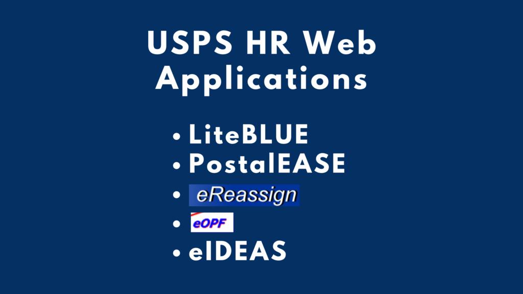liteblue usps hr web application