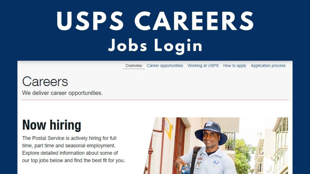 usps careers login