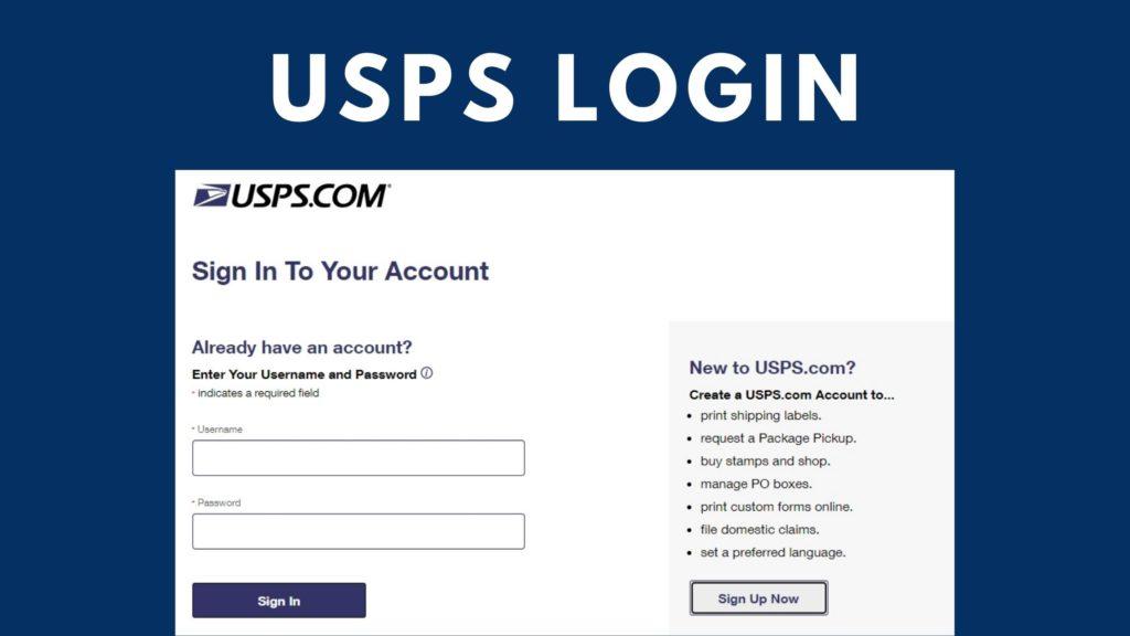 usps login